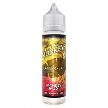 Twelve Monkeys - Congo Cream - Premium Liquid - 50ml