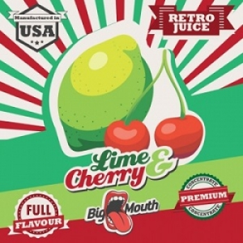 Big Mouth Retro Juice - Lime & Cherry Aroma - 10ml