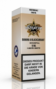 VapeAyer - Banana & Blackcurrant Liquid
