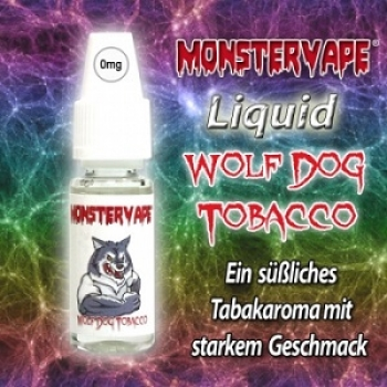 Monstervape Wolf-Dog-Tobacco Liquid-10ml