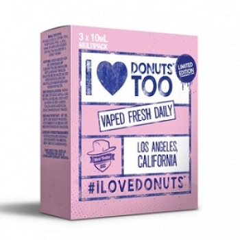 I Love Donuts Too 3 x 10ml