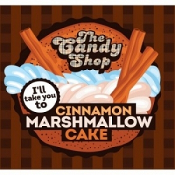 Big Mouth The Candy Shop - Cinnamon Marshmallow Cake Aroma - 10ml