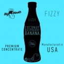 Big Mouth Fizzy - Coconut Raspberry Banana Aroma - 10ml