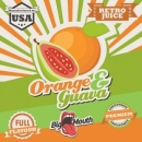 Big Mouth Retro Juice - Orange & Guava Aroma - 10ml